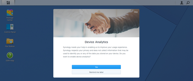 Fig. 9: Device analytics